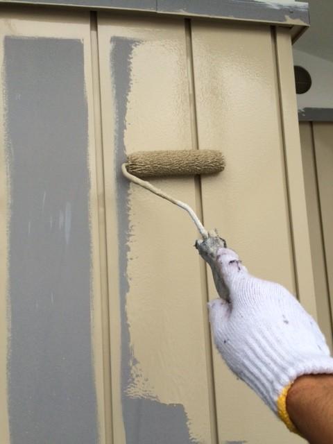 150708外壁中塗り