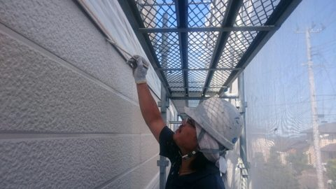 2016073002二階外壁上塗り2