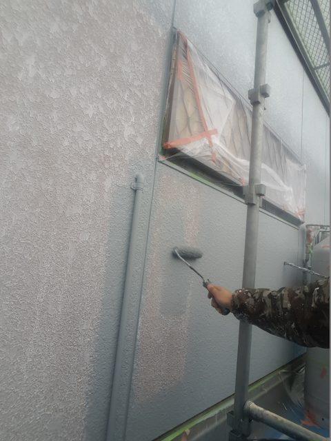 170331外壁中塗り