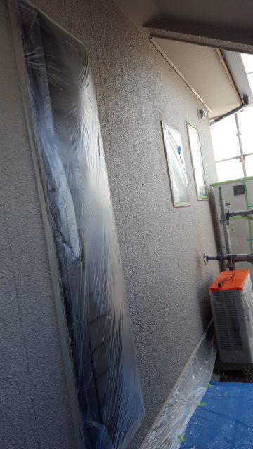 4.30F1外壁上塗り、F2破風下塗り2