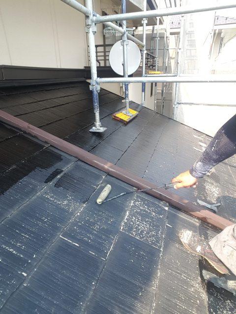 5.30雪止め等の錆び止め 屋根下塗り2