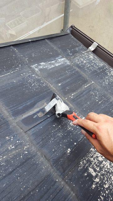 5.30雪止め等の錆び止め 屋根下塗り