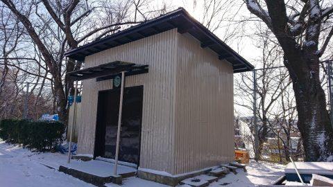 山の寺 公園倉庫 完成_210119_1