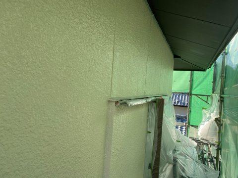 いわき馬上邸 二階壁下塗り ハフケレン下塗り中塗り_210122_4
