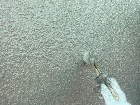 いわき馬上邸 掃除見直し 小屋根中塗り上塗り 外とう、各所下塗り テラス屋根コ_0
